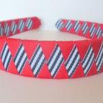 Striped Patriotic Headband:..